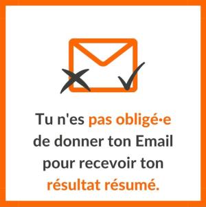 mail non obligatoire test soi libre heureux