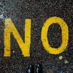 savoir dire non quand il le faut
