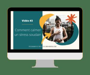 Comment ârreter de stresser vidéo#3 programme No Stress